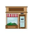shop store cartoon vector image vector image