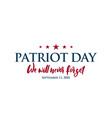 911 patriot day background usa patriot day vector image vector image