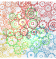 Abstract cogs - gears background vector image vector image