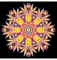 Abstract Hand-drawn Mandala 8 vector image vector image