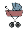 baby car small vector image