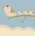 bird leader vector image
