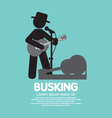 Busking Street Performance Symbol vector image vector image