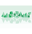forest green vector image vector image