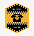full service vector image vector image