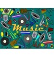 Music instruments vector image vector image