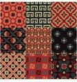seamless Chinese Turkestan pattern vector image
