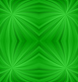 Seamless green twirl pattern background vector image vector image