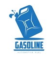 logo for gasoline canisters vector image