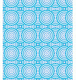 abstract circles spiral pattern blue and white vector image vector image