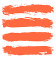 brushstroke texture striped background vector image