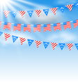 Bunting Garlands vector image