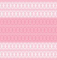 pastel pink and white lace seamless pattern vector image vector image