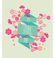 - spring season vector image vector image