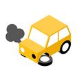Car crash vector image