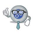 businessman omesigo coin character cartoon vector image