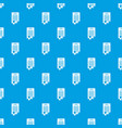contract pattern seamless blue vector image vector image