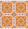 Gorgeous seamless patchwork pattern from Moroccan vector image vector image