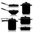 kitchen utensils-set vector image vector image
