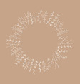 nudeANDwhite Branches Frame vector image vector image