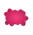 raspberry jam sweet raspberries splash isolated vector image
