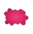 raspberry jam sweet raspberries splash isolated vector image vector image