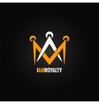 crown royal concept design background vector image