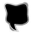 comic speech bubble vector image vector image