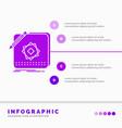 design app logo application design infographics vector image vector image