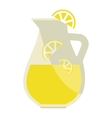 Lemonade jar vector image