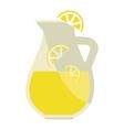 lemonade jar vector image