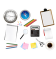 office supplies vector vector image