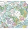 Vintage flowers seamless pattern EPS10 vector image vector image