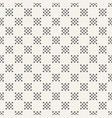 abstract seamless pattern of dotted squares vector image vector image