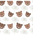 brown bear animal vector image