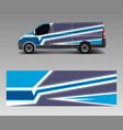 car decal van designs wrap designs template vector image vector image