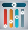 elements for infografika vector image