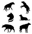 HyenaSet vector image vector image