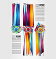 modern infographic brochure template for product vector image vector image