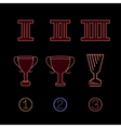 Prize Icons 01 A vector image