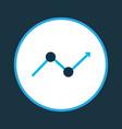progress icon colored symbol premium quality vector image vector image