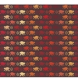 Red Monkeys seamless pattern vector image