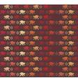 Red Monkeys seamless pattern