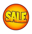Sale comics icon vector image vector image