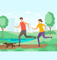 sport activities background fitness people vector image vector image