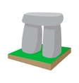 Stonehenge icon cartoon style vector image vector image
