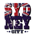 Sydney City T-shirt Typography