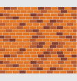 wall capacity brick vector image