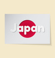 japan theme sticker in the vector image
