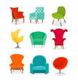 set of beautiful different vector image